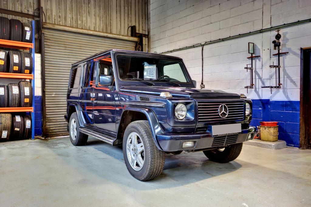 Mercedes- Benz G Wagen 400 CDI LWB V8