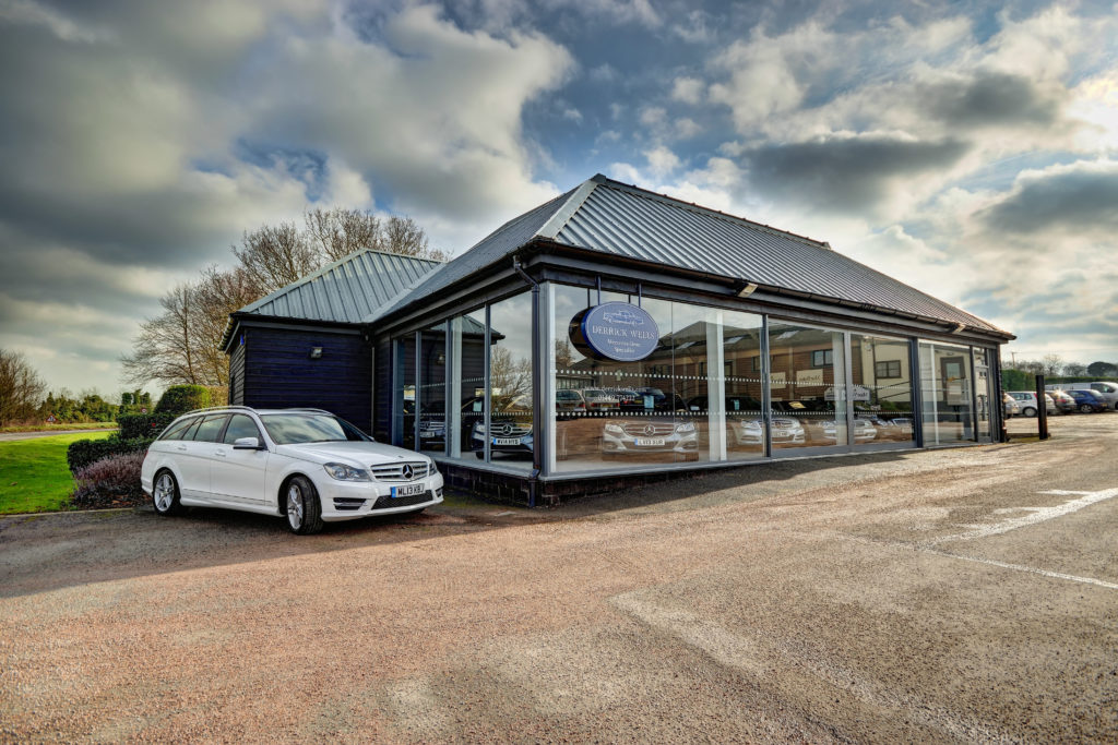 Derrick Wells Showroom - Mercedes Benz Specialists in Needham Market, Suffolk