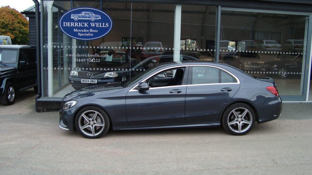 Mercedes-Benz C250 D AMG Line Saloon