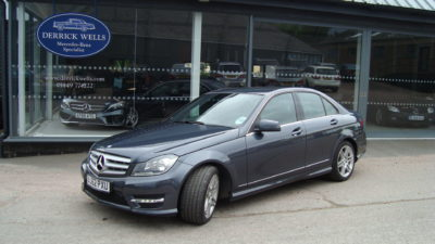 Mercedes-Benz C350 AMG Sport cdi Blue Efficiency