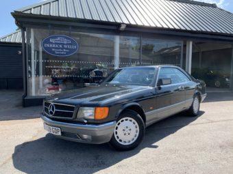 Mercedes-Benz 500 SEC Auto 1988