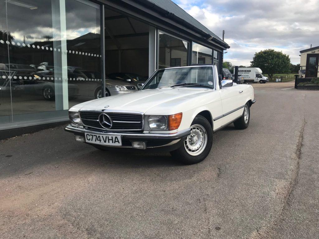 Mercedes-Benz R107 380SL 1985