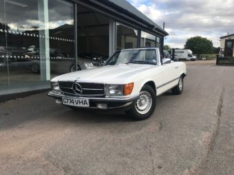 Mercedes-Benz R107 380SL 1985